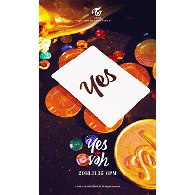 TWICE - YES or YES + предзаказный набор карточек - фото 4623