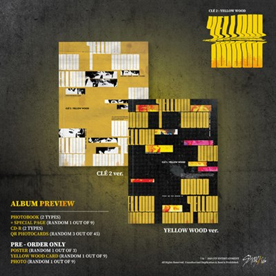[Под заказ] Stray Kids - Clé 2 : Yellow Wood - фото 4864