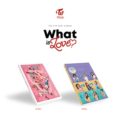 TWICE - WHAT IS LOVE? + предзаказные карты - фото 5141