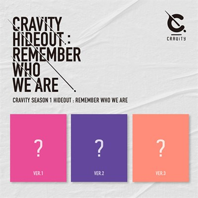 CRAVITY - SEASON1. [HIDEOUT: REMEMBER WHO WE ARE] + плакат - фото 5193