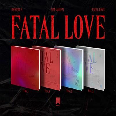 MONSTA X - FATAL LOVE + плакат - фото 5477