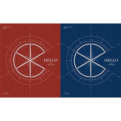 [Под заказ] CIX - 1st EP [HELLO] Chapter 1. Hello, Stranger - фото 4921