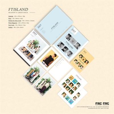 [Под заказ] FTISLAND - 2017 FTISLAND SEASON'S GREETINGS - фото 5036