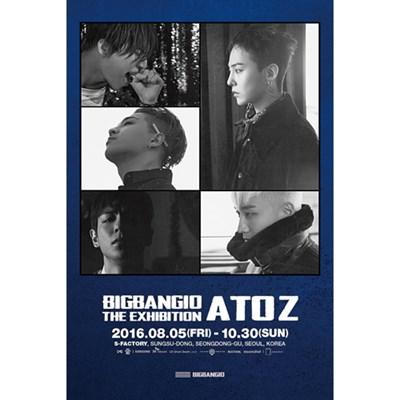 [Под заказ] BIGBANG - BIGBANG10 THE EXHIBITION: A TO Z POSTER SET - фото 5037